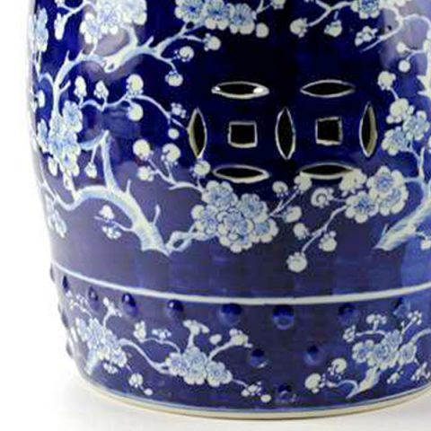 Rywg04 Blue And White High Quality Hand Paint Winter Sweet