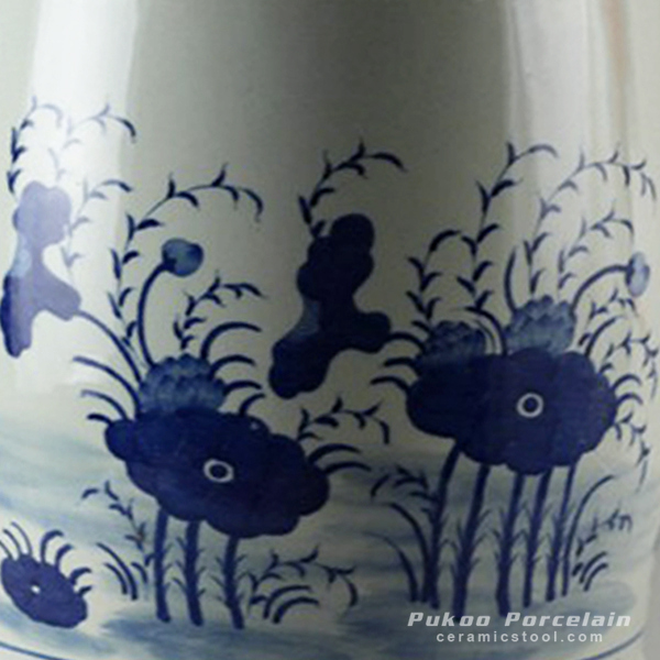 Rylu18 Hand Painted Blue And White Chinese Ceramics Stools