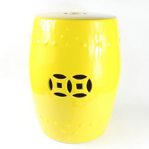 RYIR104_Solid Color Ceramic Garden Stool