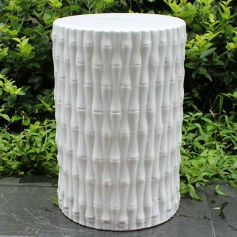 RYIR105_Bamboo Ceramic Stool
