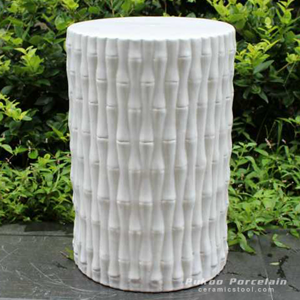 Bamboo Ceramic Stool
