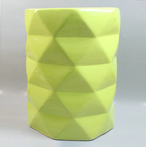 RYIR90_Verdancy green ceramic diamond stool