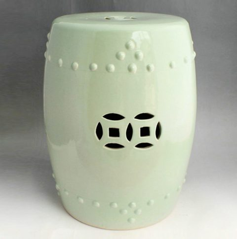 RYIR92_Light green ceramic kitchen stool