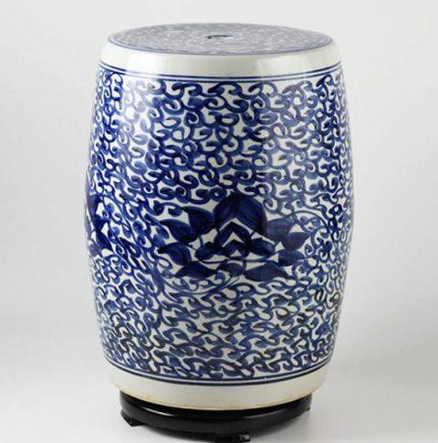 RYLL09_Jingdezhen hand painted ceramic stools