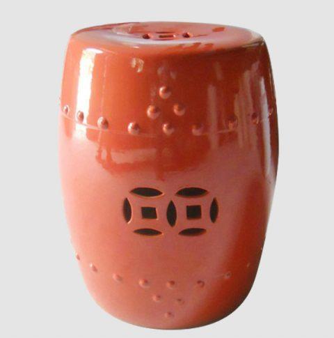 RYNQ09_Drum Porcelain Outdoor Stool
