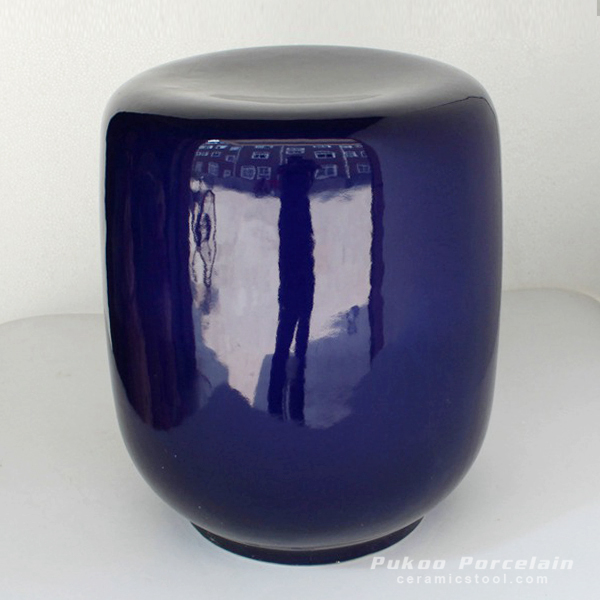 Navy color stool
