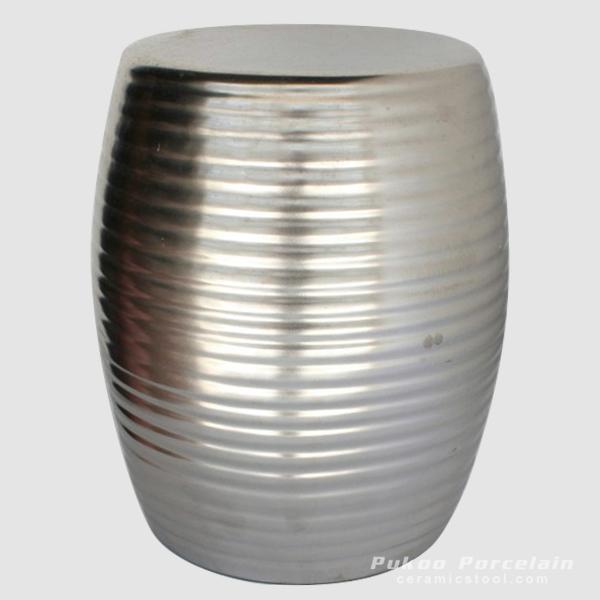Solid color Modern Ceramic Garden Stool