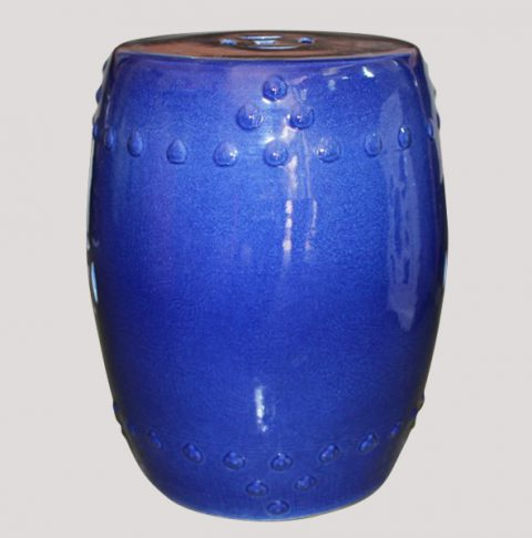 RYNQ57_Ceramic Stool, high temperature fired, color strong never fade
