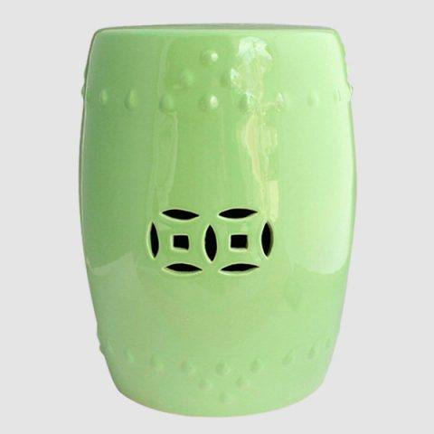 RYNQ62_Ceramic Stool, high temperature fired, color strong never fade
