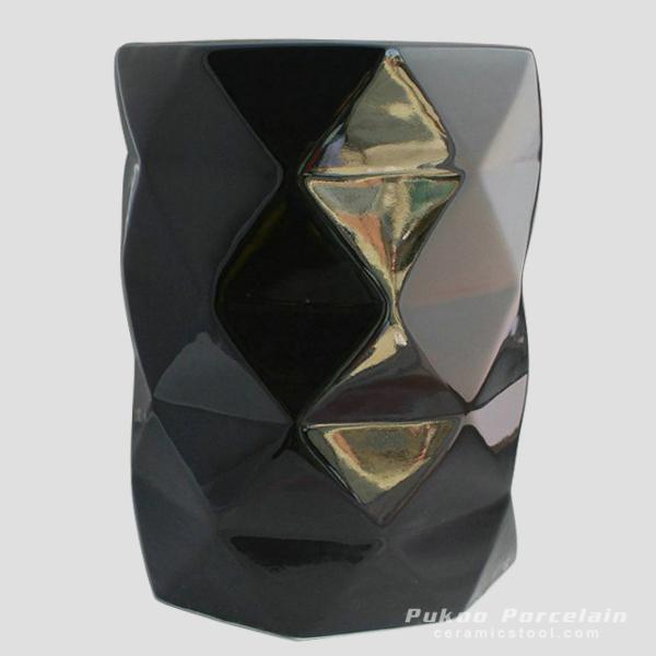 Diamond Ceramic Patio Stools