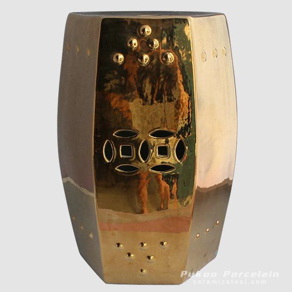 Golden 6 sides stool