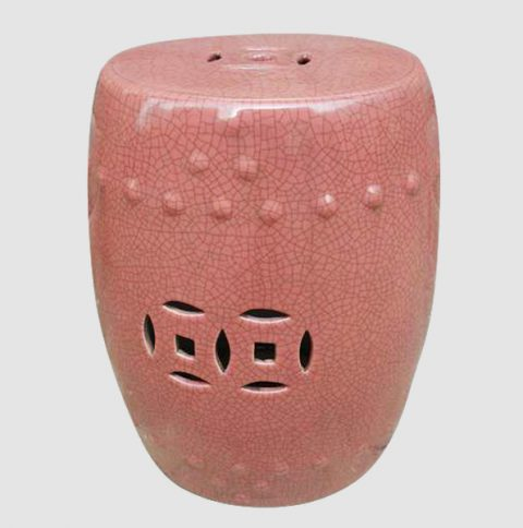 RYPP02_PINK CRACKLE STOOL