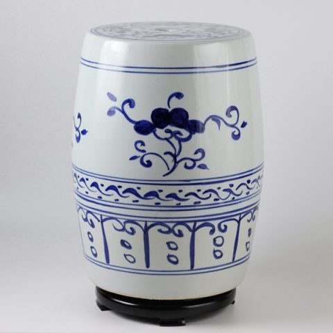 RYSU09_Jingdezhen hand painted ceramic stools