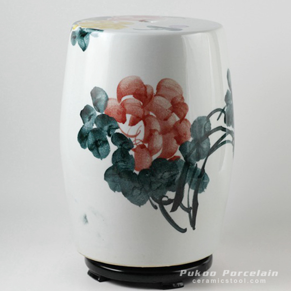 Jingdezhen hand painted ceramic stools