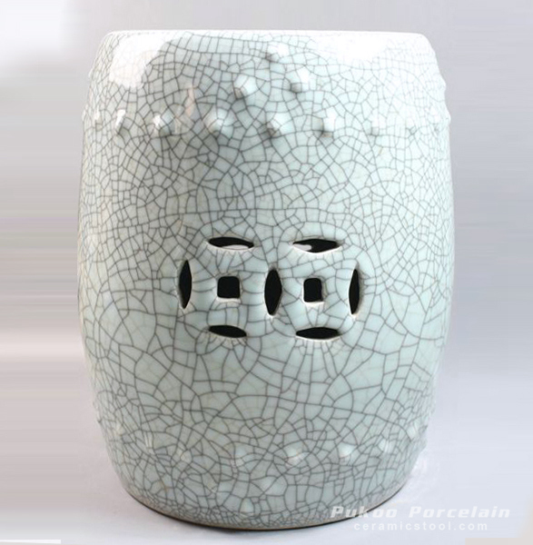 Chinese Crackle Glaze Garden Stool
