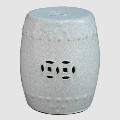 RYZR04_Chinese Crackle glazed Asian stool