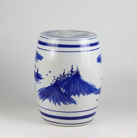RYAZ343_Chinese hand paintde blue and white ceramic garden stool & Blue And White stool u2013 ALL Ceramic stool/ porcelain garden stool islam-shia.org