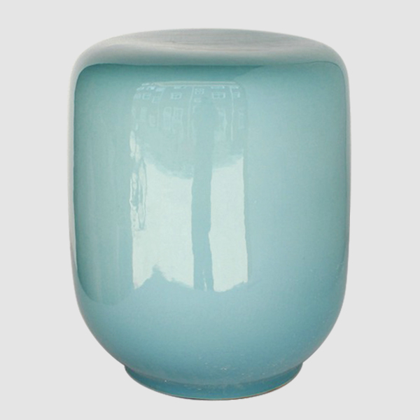 RYNQ143_chinese solid color garden stool
