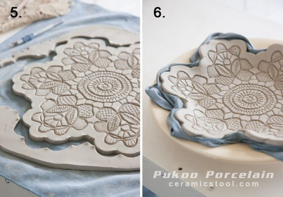 Stamping Art in Ceramics
