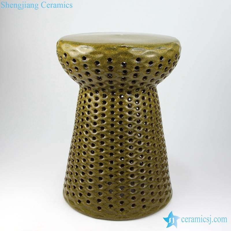 mushroom stool with hollow decoration