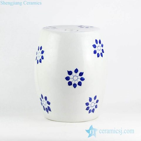 Corn flower pattern wholesale price hand drawing porcelain seat