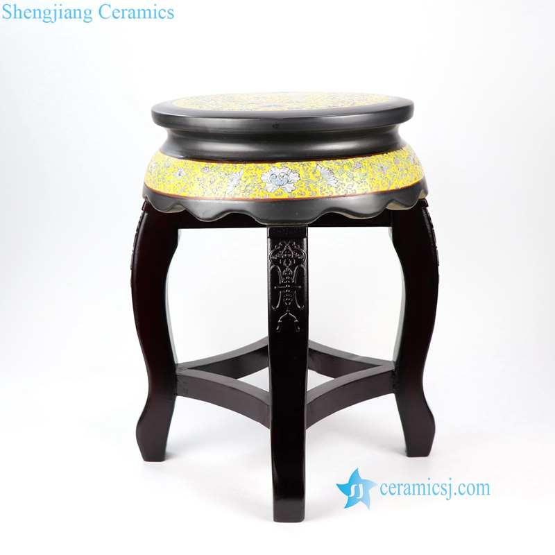ceramic black top seat