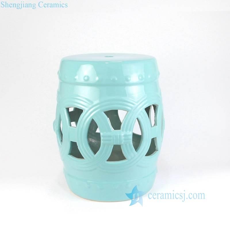 sky blue porcelain  seat