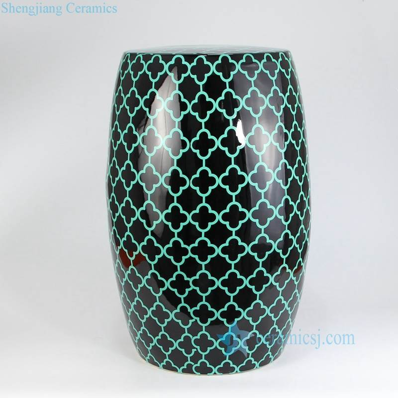 Snake leather porcelain seat