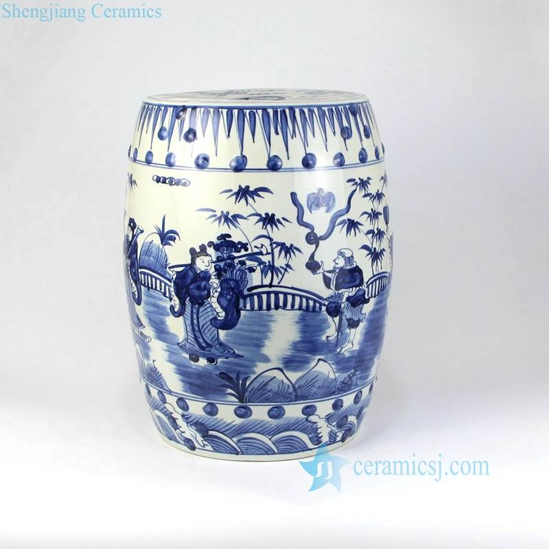 CHINESE PORCELAIN  END TABLE