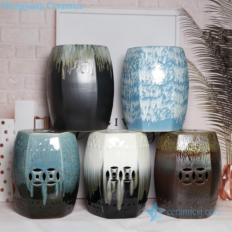 melting glaze ceramic seat