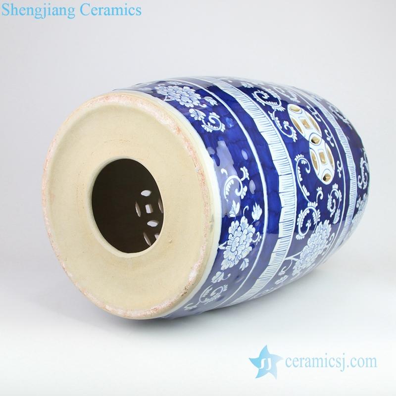 ceramic stool bottom