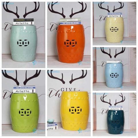 solid color ceramic seat