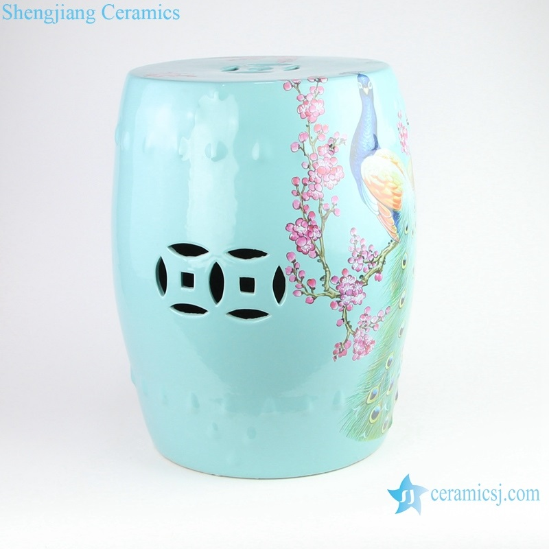 new chinese style archaize stool side view
