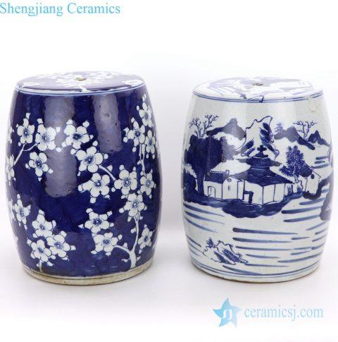 Jingdezhen ceramic stool
