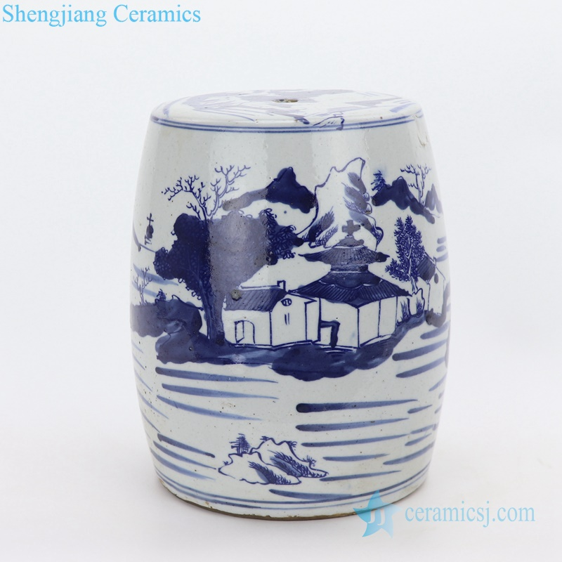 rural China porcelain seat