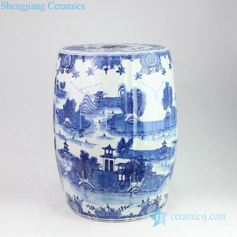 watertown ceramic stool