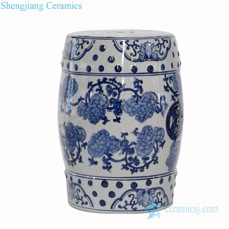 never fade ceramic stool