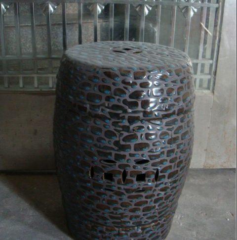 stone design ceramic stool