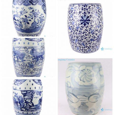 Jingdezhen Ceramic-blue and white ceramic garden stool